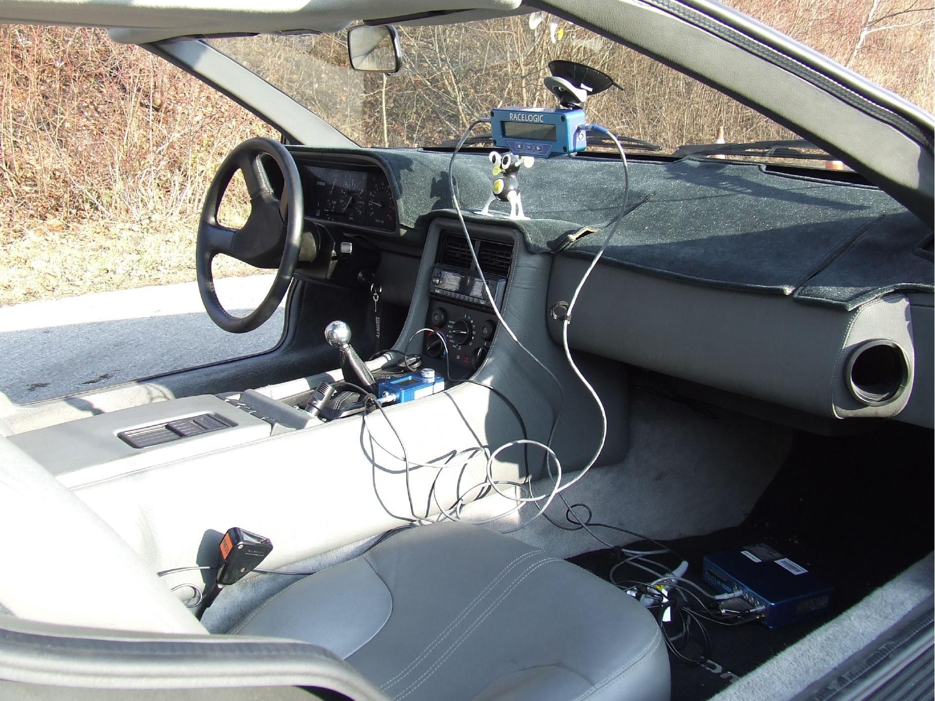 Auto ist am Gerät angeschlossen