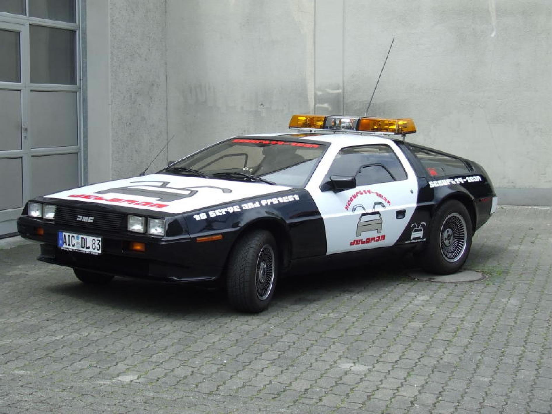 Delorean Security Car