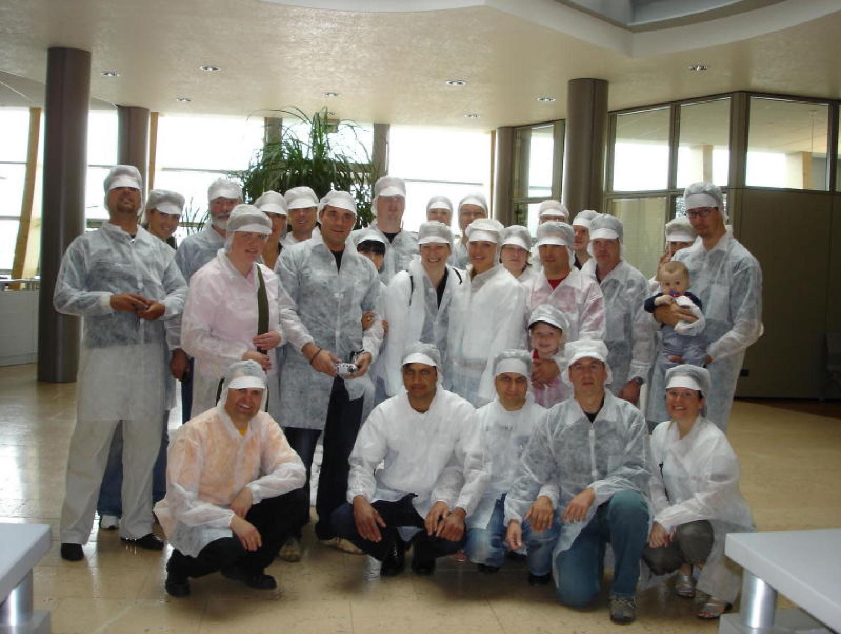 Mitarbeiter der Pasta Produktion