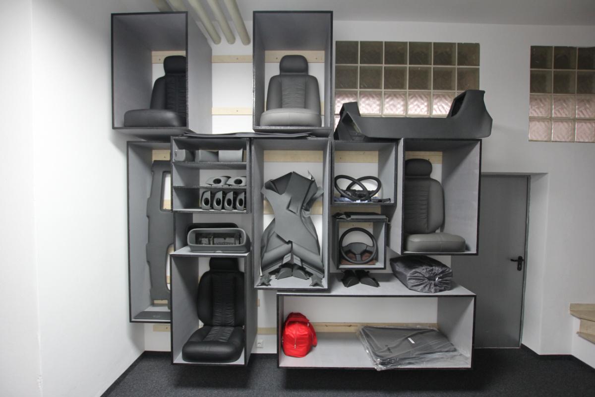 Regalbau für's Interieur