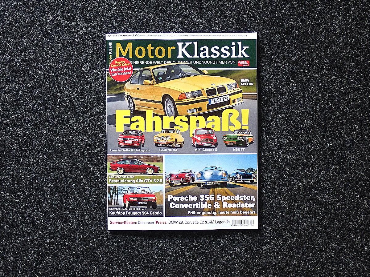 Motor Klassik Ausgabe Juni 2020