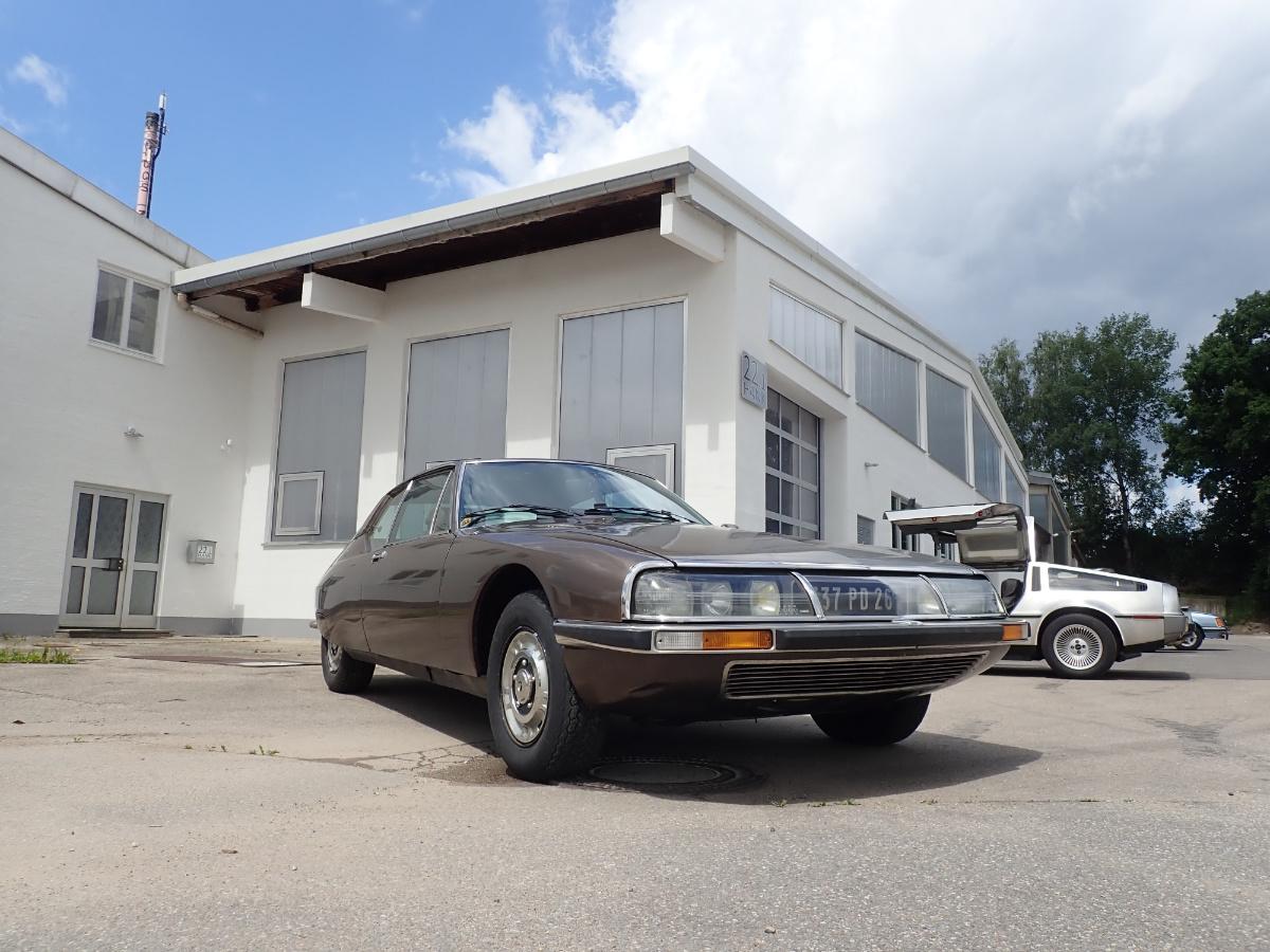 zu Gast: Citroën SM