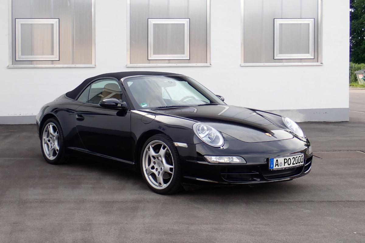 zu Gast: Porsche 997 Cabrio