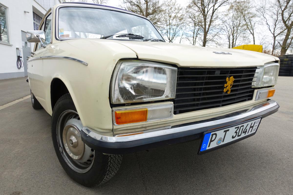 zu Gast: Peugeot 304