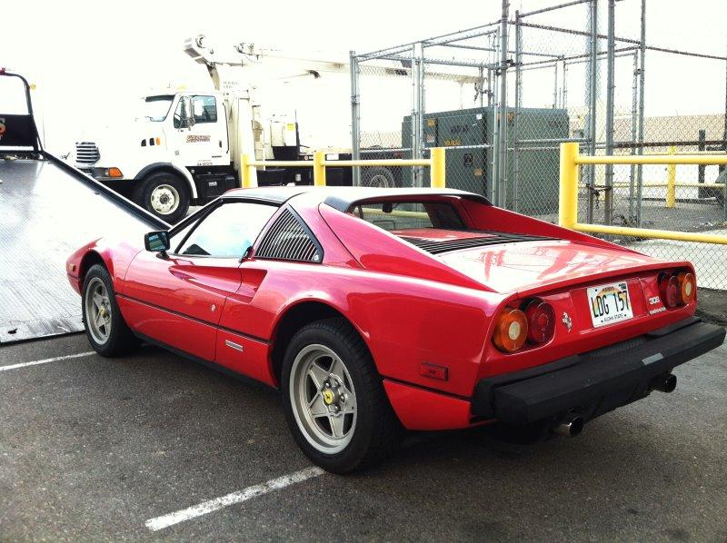 Ferrari 308GTSi in Los Angeles